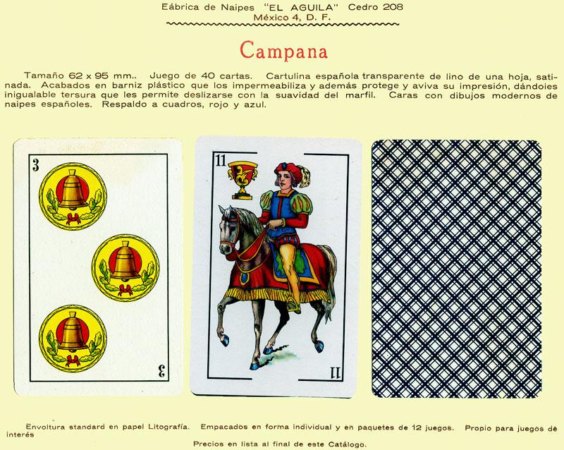 Naipes Campana, c.1960