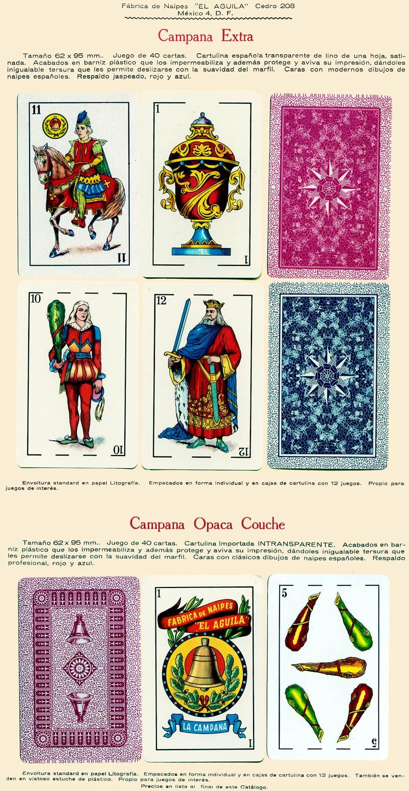 Naipes Campana Extra, c.1960