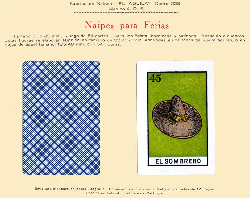 Naipes para Ferias, c.1960