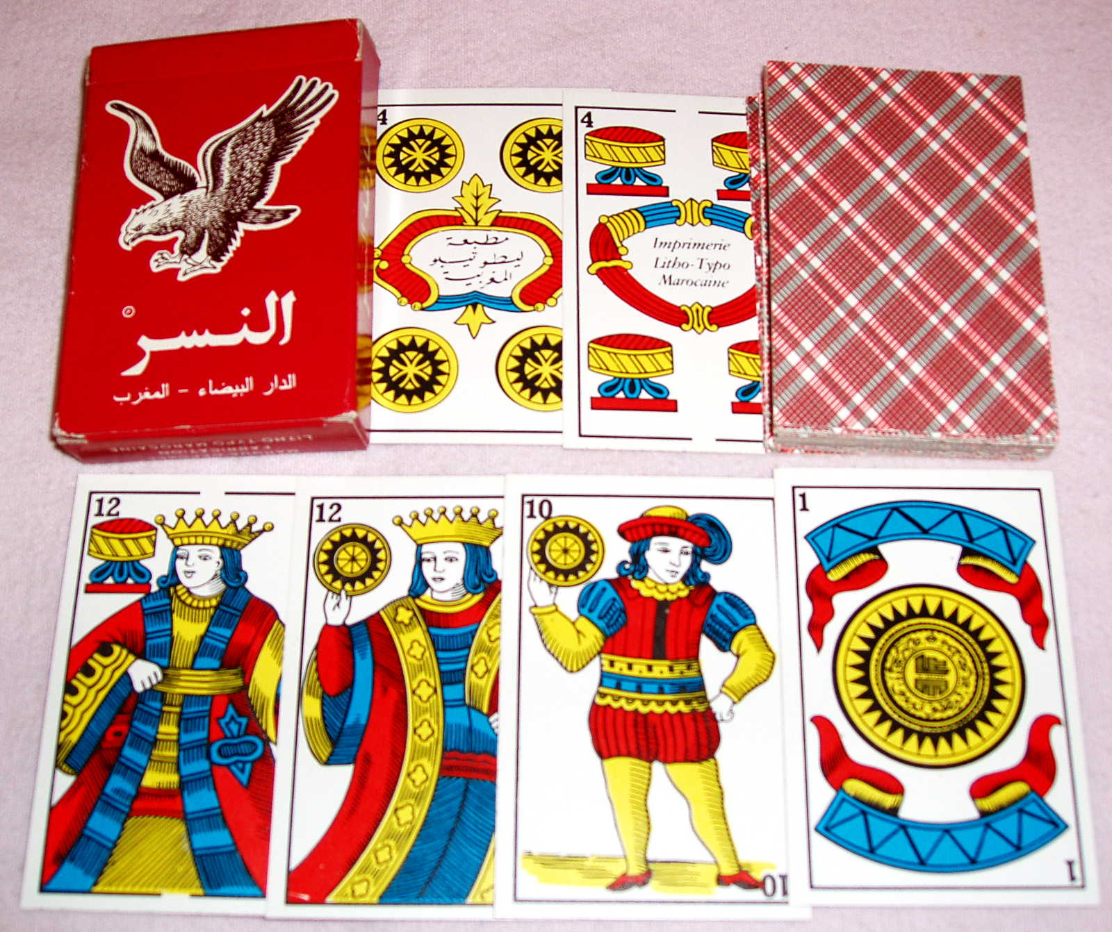 morocco karta Playing cards in Morocco   The World of Playing Cards morocco karta