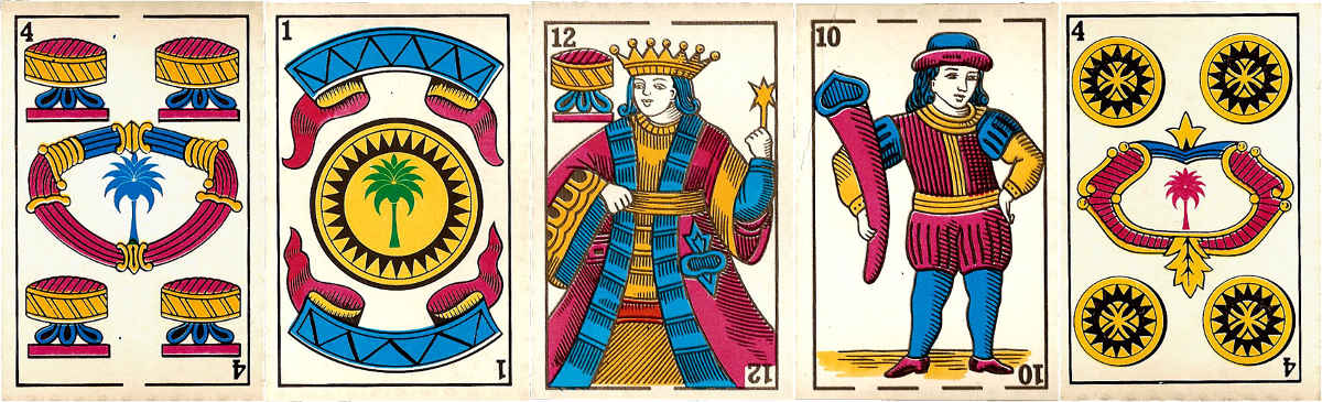 anonymous Spanish-suited playing cards