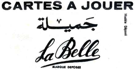 Cartes a Jouer La Belle, Casablanca, Morocco