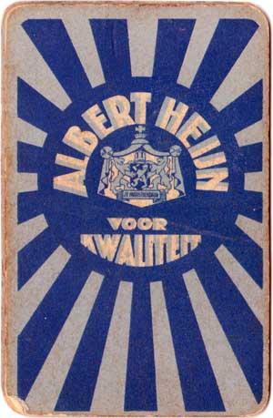 Albert Heijn's Boffie Kwartetspel, 1936
