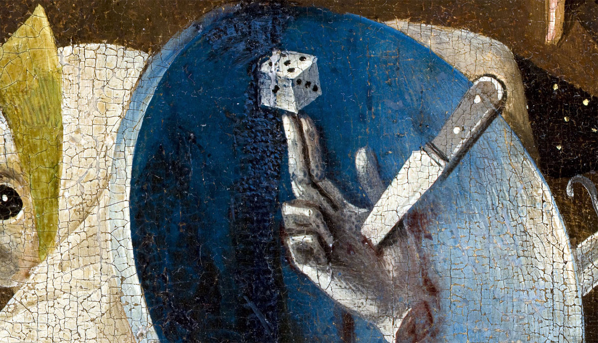 detail from the 'Garden of Earthly Delights' by Jheronimus Bosch