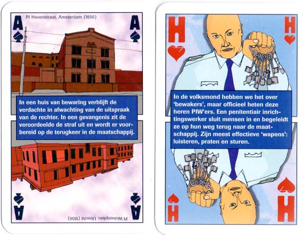 Dutch Prison Service playing cards