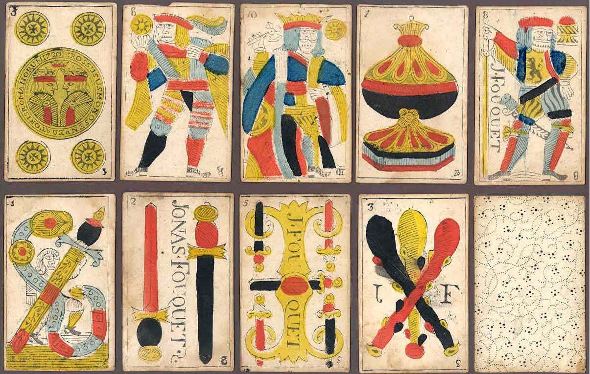 Navarra Pattern by Jonas Fouquet, c.1720