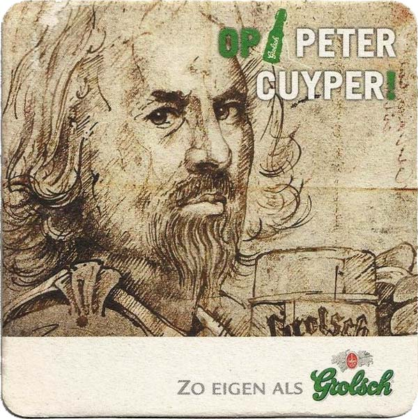 Grolsch has been brewed since 1676 according to a recipe by Peter Cuyper