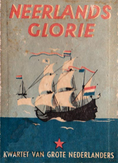 Neerlands Glorie Kwartetspel by Hausemann & Hötte N.V, Amsterdam, 1945