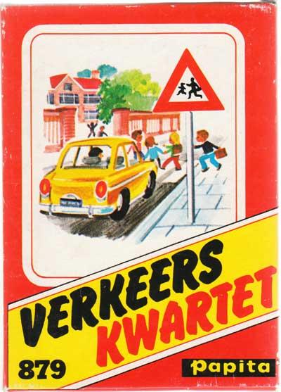 Verkeers Kwartet No.879 by Nederlandse Spellenfabriek BV, Amsterdam, 1965