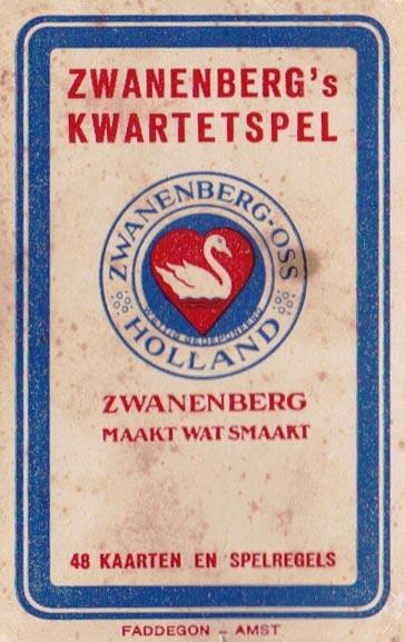 Zwanenberg's Kwartetspel, 1938