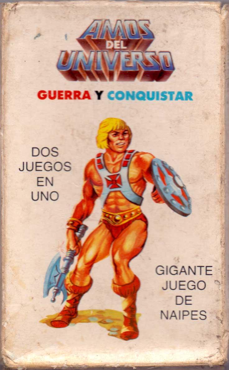 """Amos del Universo"" card game published by Litografía  Goicochea Hnos, S.A., Peru, c.1980"