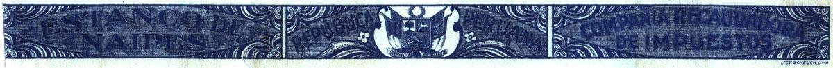 Estanco de Naipes taxband (1924-67)