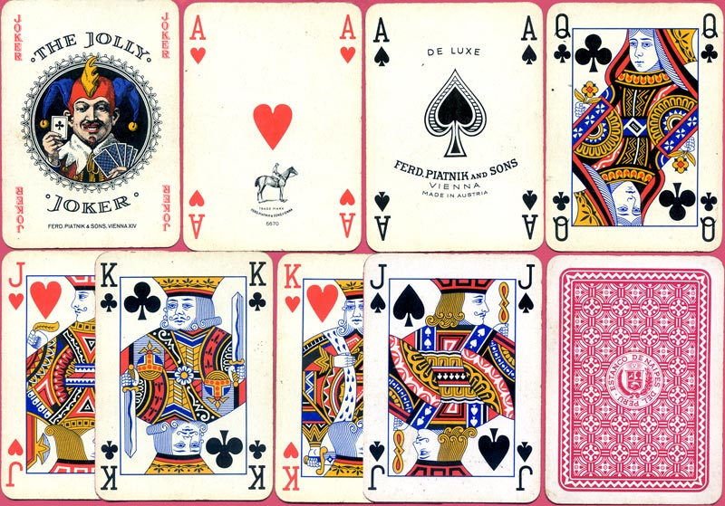 Playing Cards manufactured by Ferd. Piatnik & Sons, Vienna for the Estanco de Naipes del Peru, c.1966