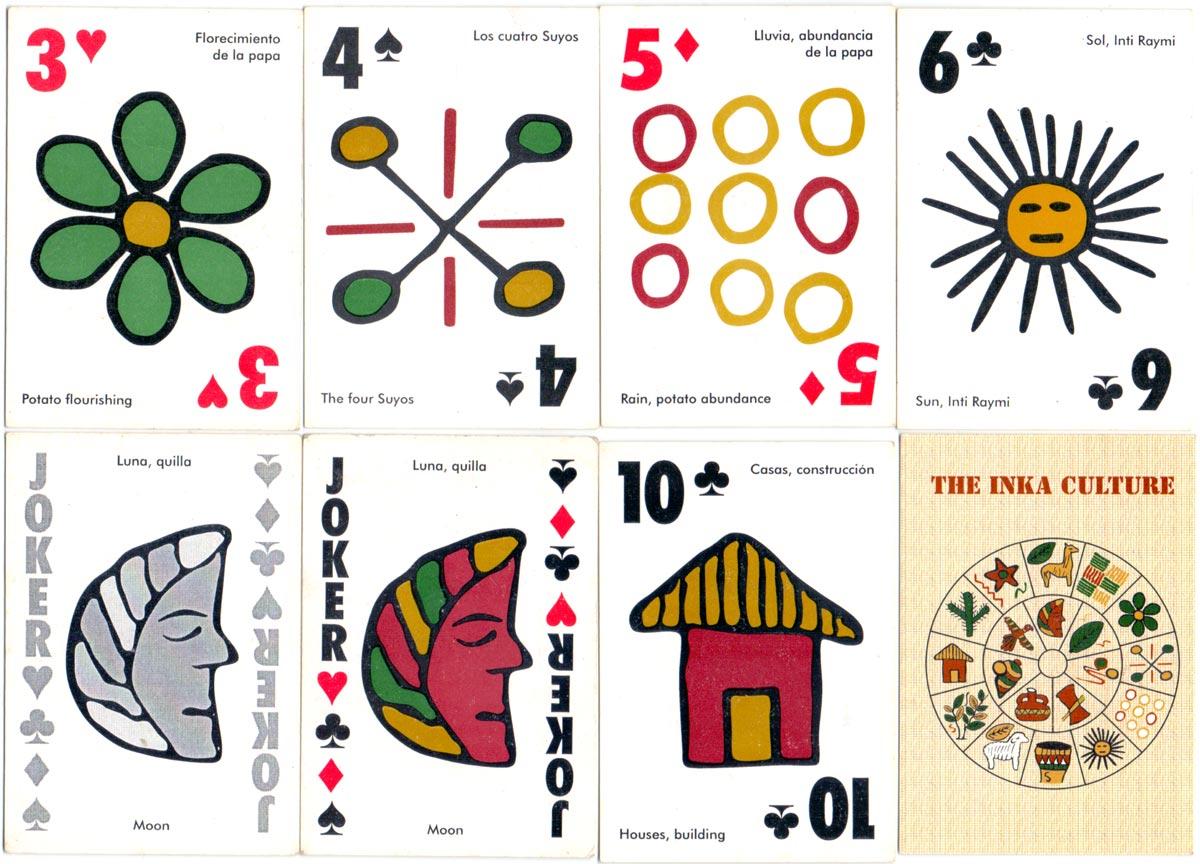 Inka Culture playing cards, Peru, c.2000