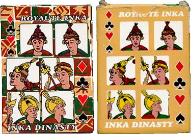 Boxes from Inka-Dynasty playing cards