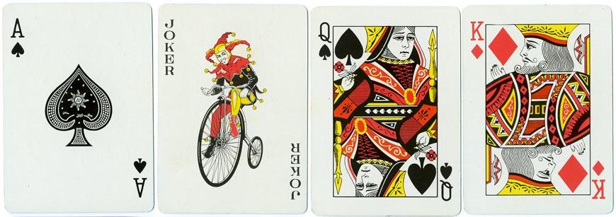Pepsamar advertising playing cards, c.1975