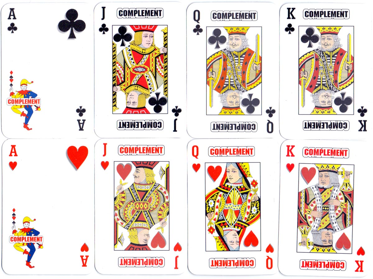Publicity playing cards manufactured by Color & Trazos for Laboratorios Magma, S.A., Lima, Peru, c.1990