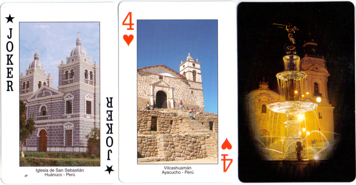 Peruvian Souvenir Playing Cards published by Jan Mer S.A.C., c.2000