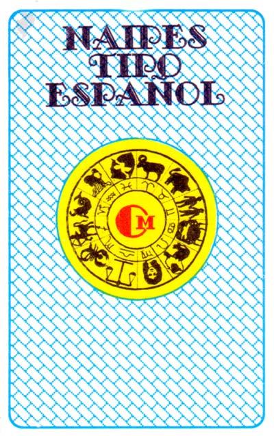 Naipes Tipo Español Cadiz style made in Peru, 1990s
