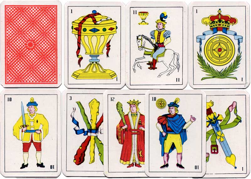 PAVIAS Spanish-suited playing cards