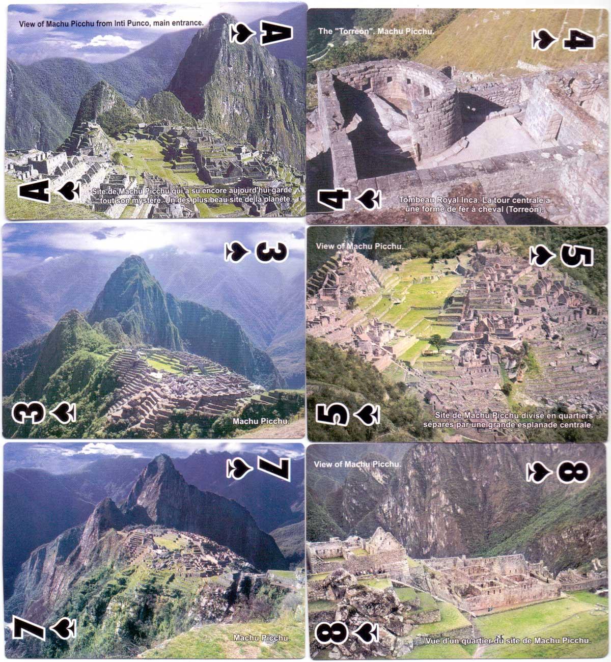 Peru Rail souvenir playing-cards