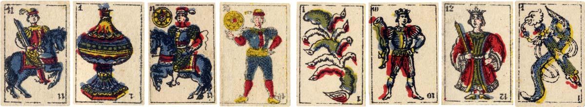 ROLDAN & CIA tobacco insert cards, PERU c.1895