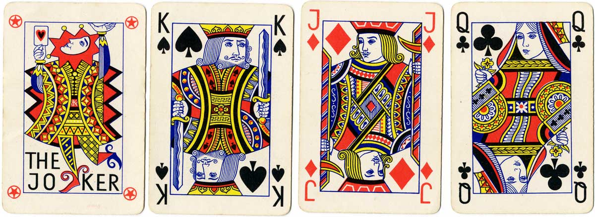 standard Anglo-American deck based on Goodall designs by Franciszek Bunsch, c.1965