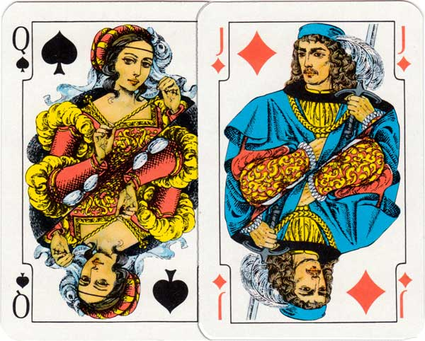"""Kasztelańskie"" playing cards"