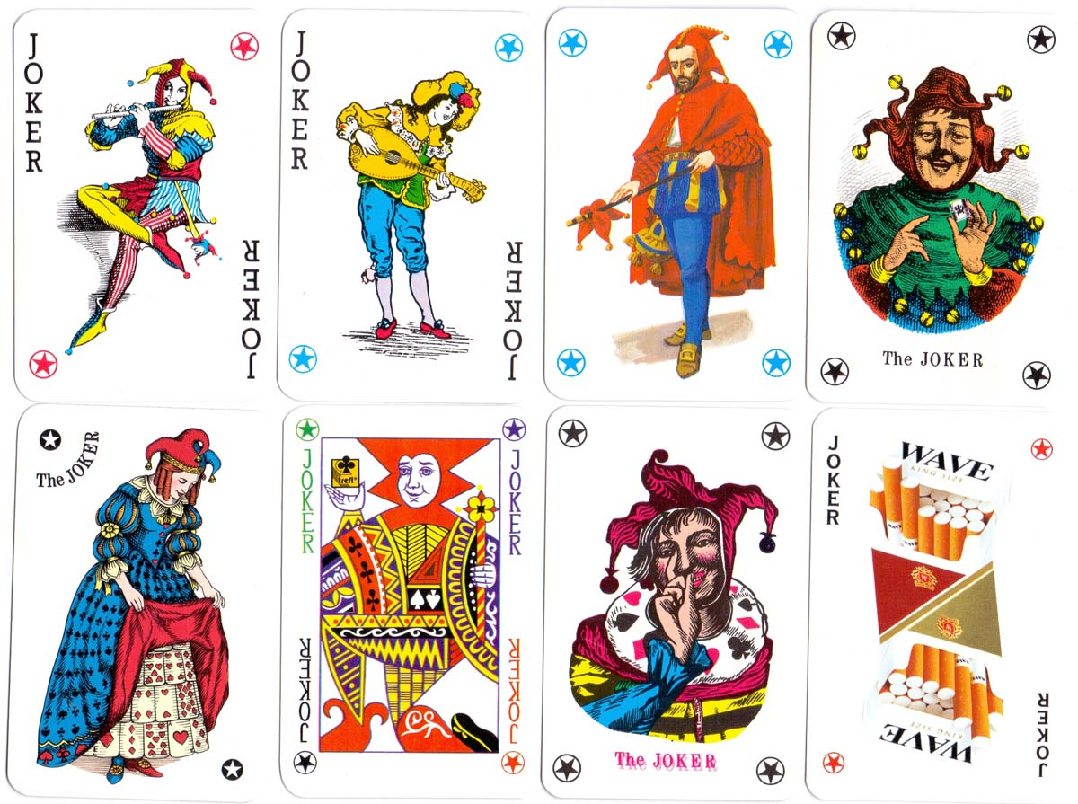Polish Joker cards by KZWP-Trefl, c.2002