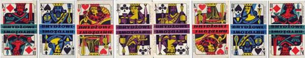 Polish matchbox cards