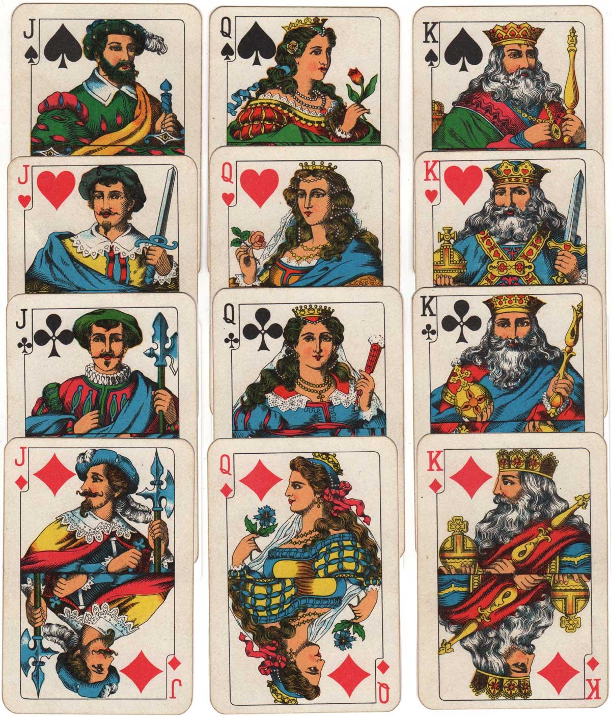 Rhineland pattern printed by KZWP, c.1986