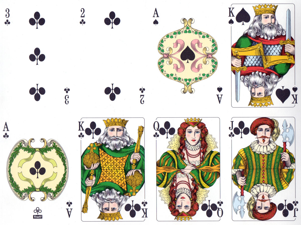 Rhineland pattern printed by KZWP-Trefl, 2003
