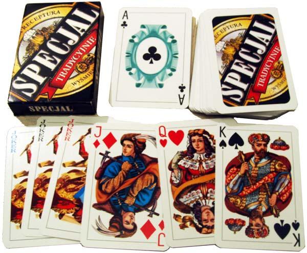Advertising deck for Specjal beer, KZWP