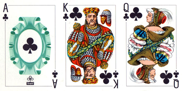 Starościanka No.470 playing cards