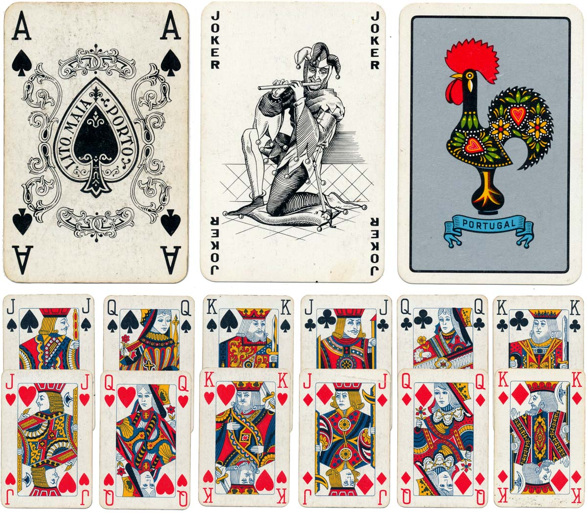 MA Beato Justero Rodrigo Costa Valerio JJ Nunes And Litografia Maia Card Making In Portugal Today Has Lost A Lot Of Its Former Glory Is