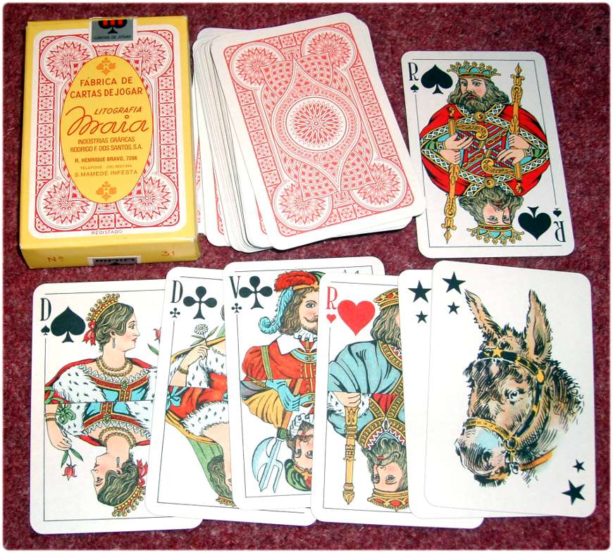 Playing Cards by Litografia Maia of Oporto
