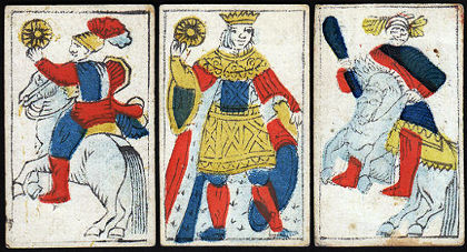 Portuguese playing cards, c.1800