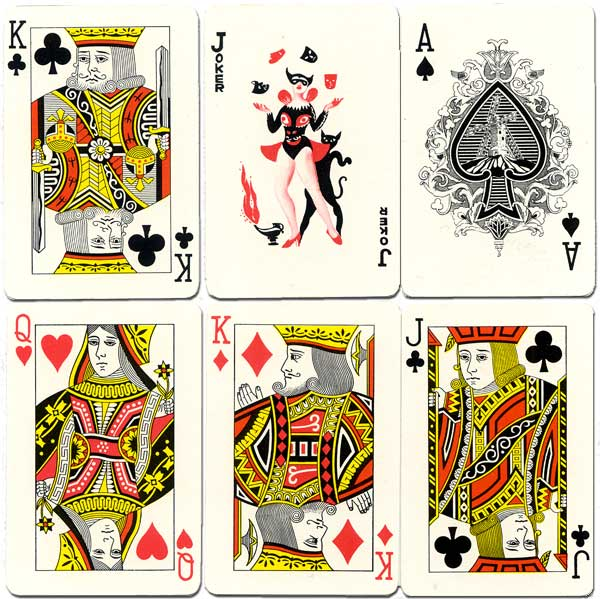 Puerto Rico souvenir playing cards made in Hong Kong, c.1960