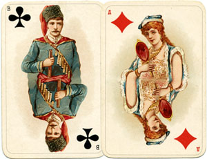 "Russian ""Historical"" playing cards"
