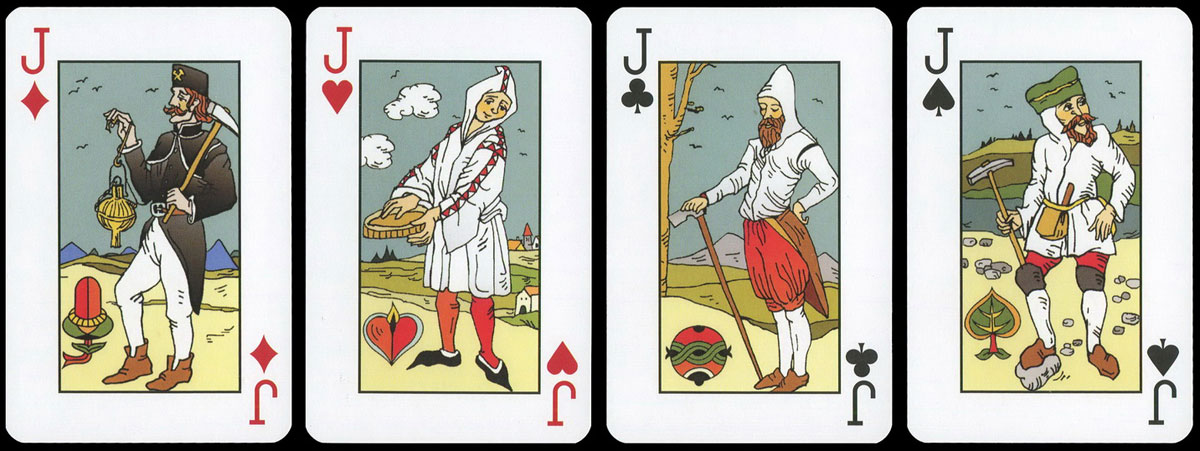 deck published by Nage Cards for the Czech company Rutek Alliance, 2012
