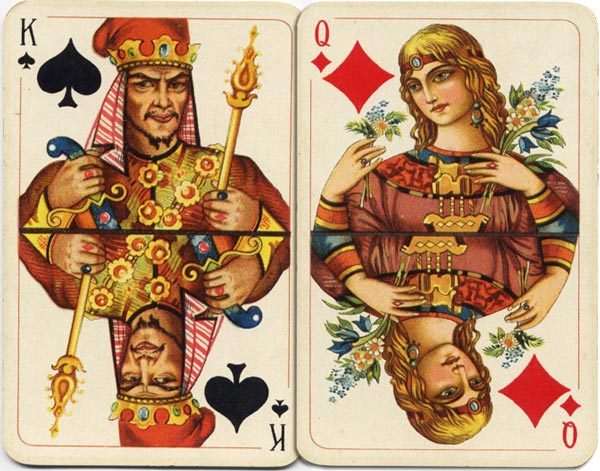 Slavonic Cards No.501