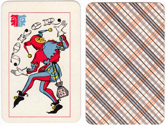 Russian Opera & Theatre Scenes playing cards first published by the Colour Printing Plant (USSR, Russian Federation) in 1973