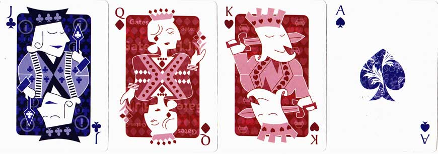 deck of cards given to passengers by Singapore Airlines