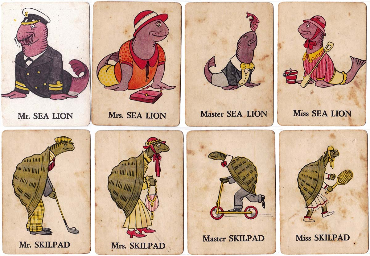 The Merry Game of Mr Bok and his Happy Families, 1930s