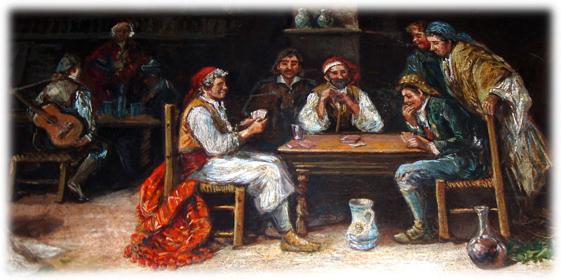 Spanish Card Players