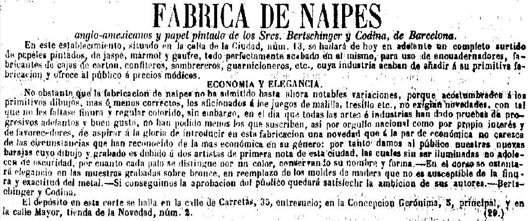 La Época, July 1885