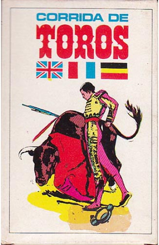 Bull fighting card game publshed by Naipes Comas, 1969