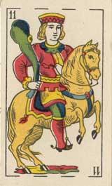 caballo de bastos