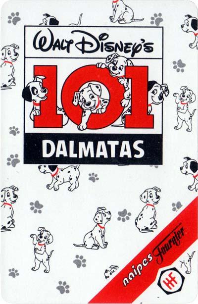 101 Dalmatas by Naipes Fournier, 1995