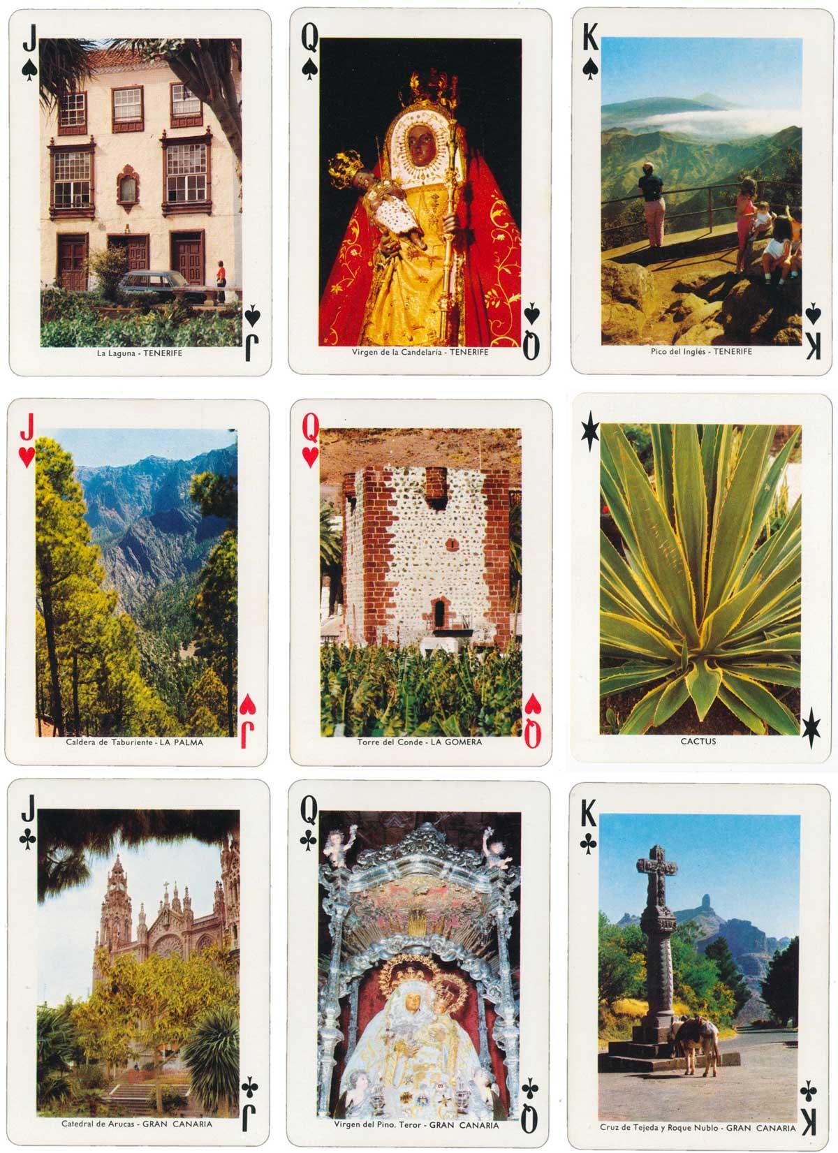 Canary Islands Souvenir by Heraclio Fournier, c.1970
